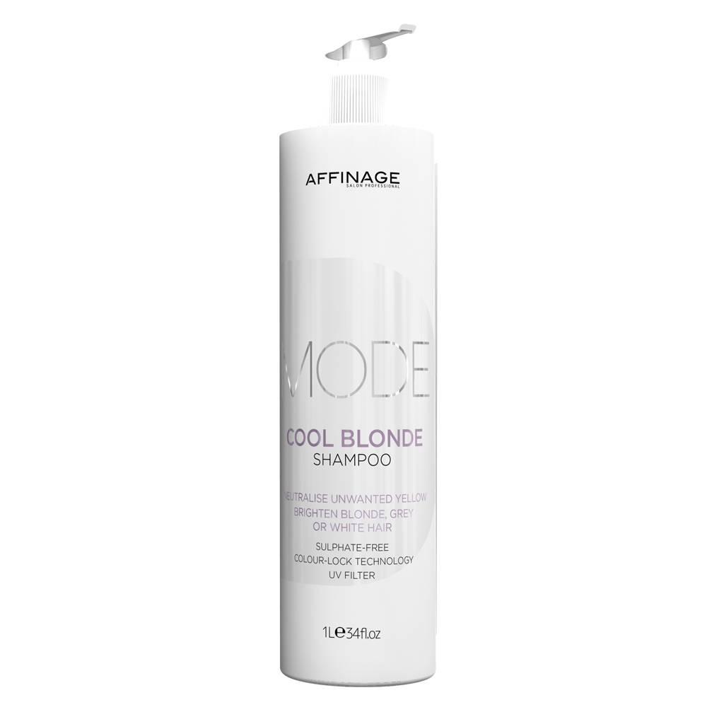 Afbeelding van Affinage Mode Cool Blonde Shampoo 1000ml zilvershampoo