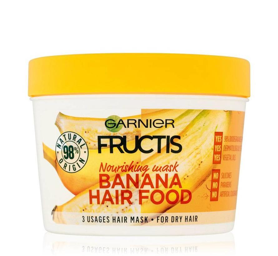 Fructis - Banana Hair Food Mask - 390ml