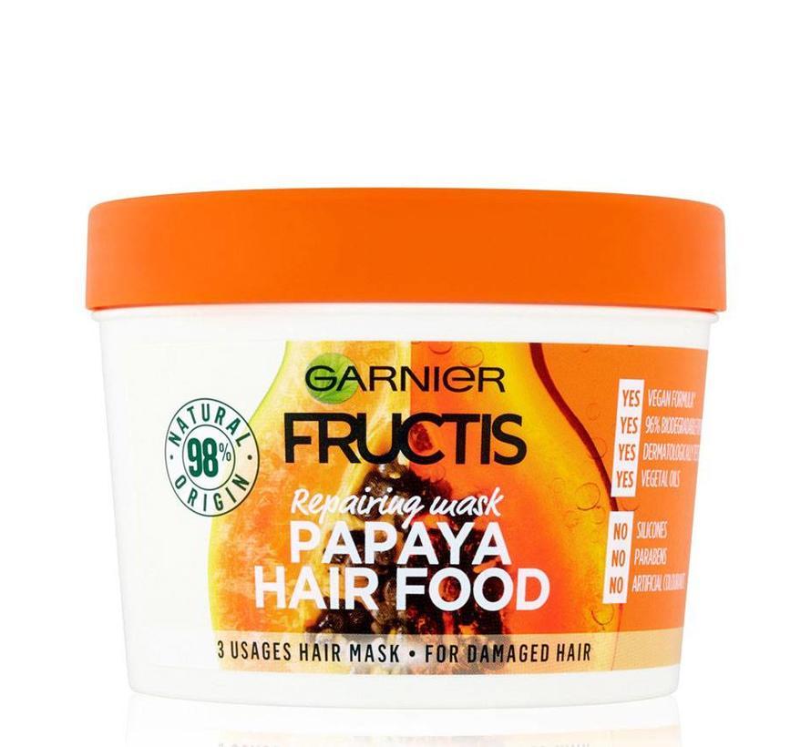 Fructis - Papaya Hair Food Mask - 390ml