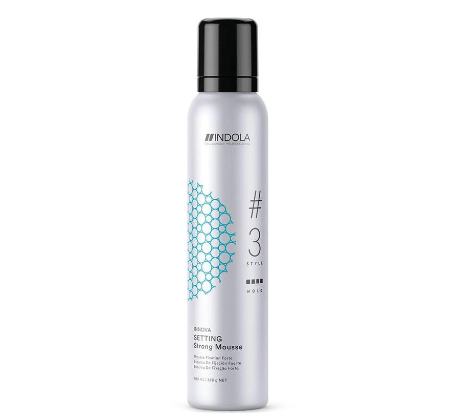 Innova Setting Strong Mousse #3 Style - 300ml