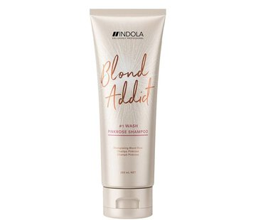 Indola Blond Addict Shampoo - Pink Rose
