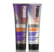 Fudge Clean Blonde Violet Duo Pack