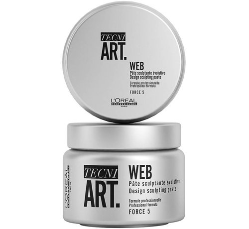L'Oreal TecniArt Design Web 5 Sculpting Paste - 150ml