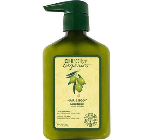CHI Olive Organics Hair & Body Conditioner - 340ml