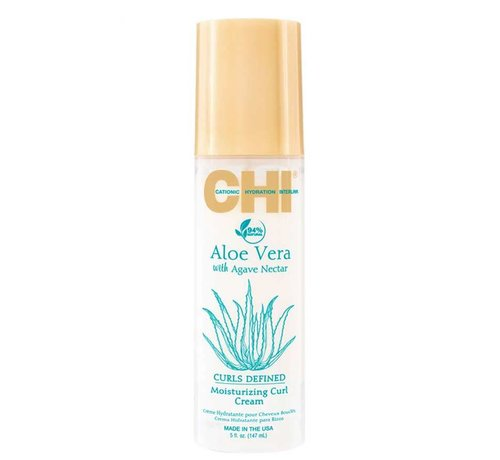 CHI Aloe Vera Moisturizing Curl Cream - 147ml