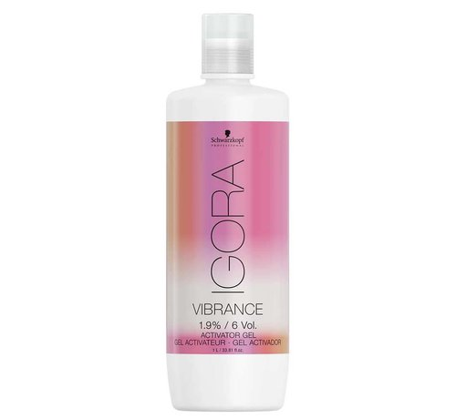 Schwarzkopf Igora Vibrance Transparent Gel Developer - 1000ml