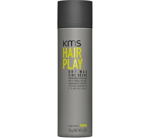 KMS California Hair Play Dry Wax - 150ml