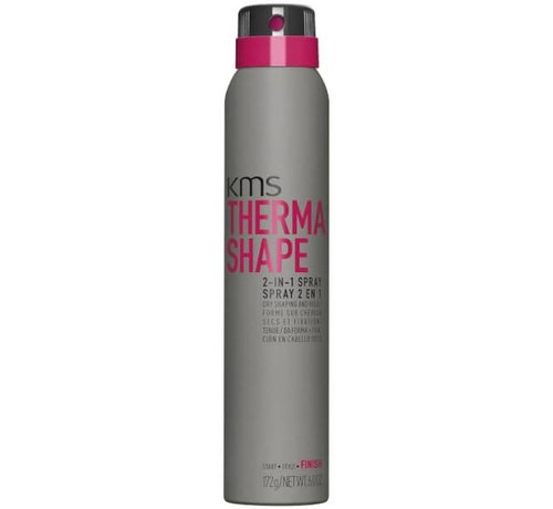 KMS California Therma Shape 2-in-1 Styling + Finish - 200ml