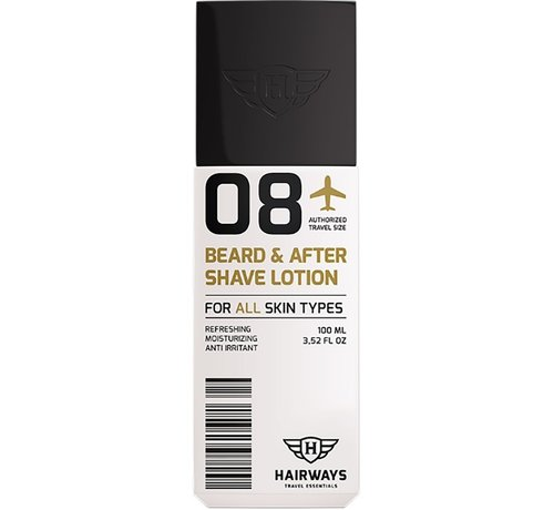Hairways 08 Beard & After Shave Lotion - 100ml