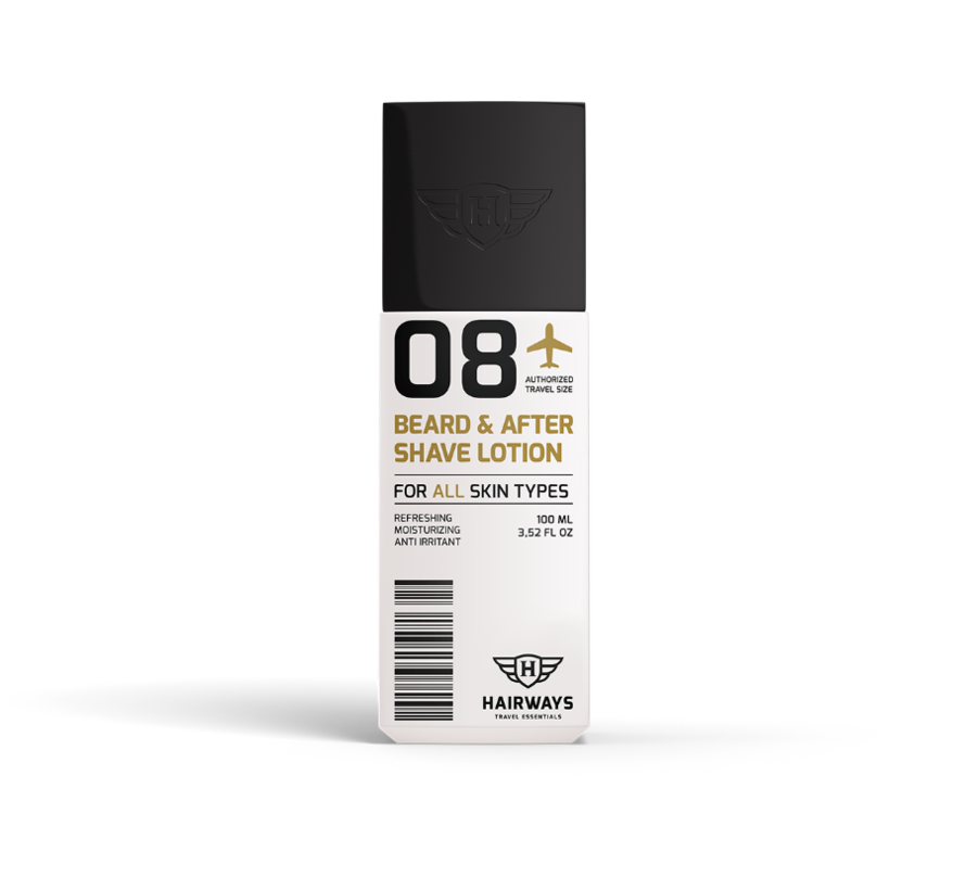 08 Beard & After Shave Lotion - 100ml