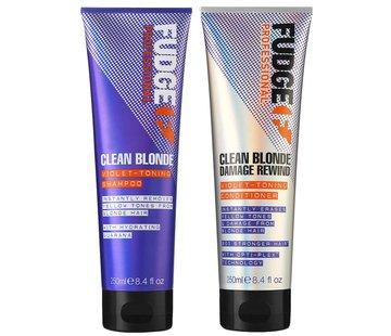 Fudge Clean Blonde Violet Duo Pack