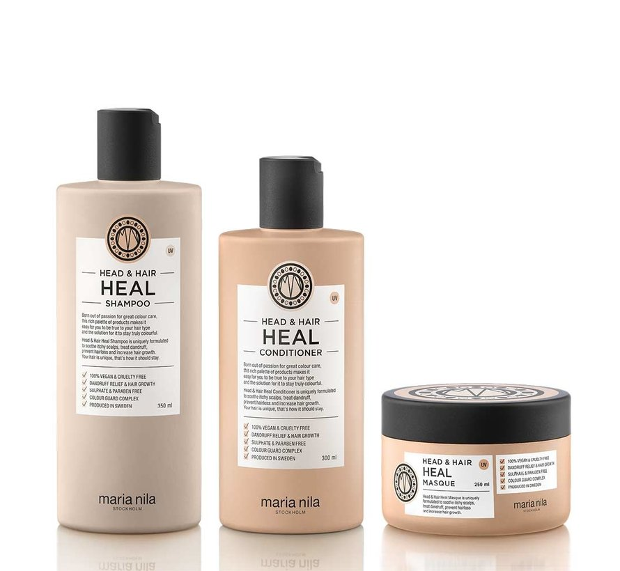 Head & Hair Heal Luxe Set