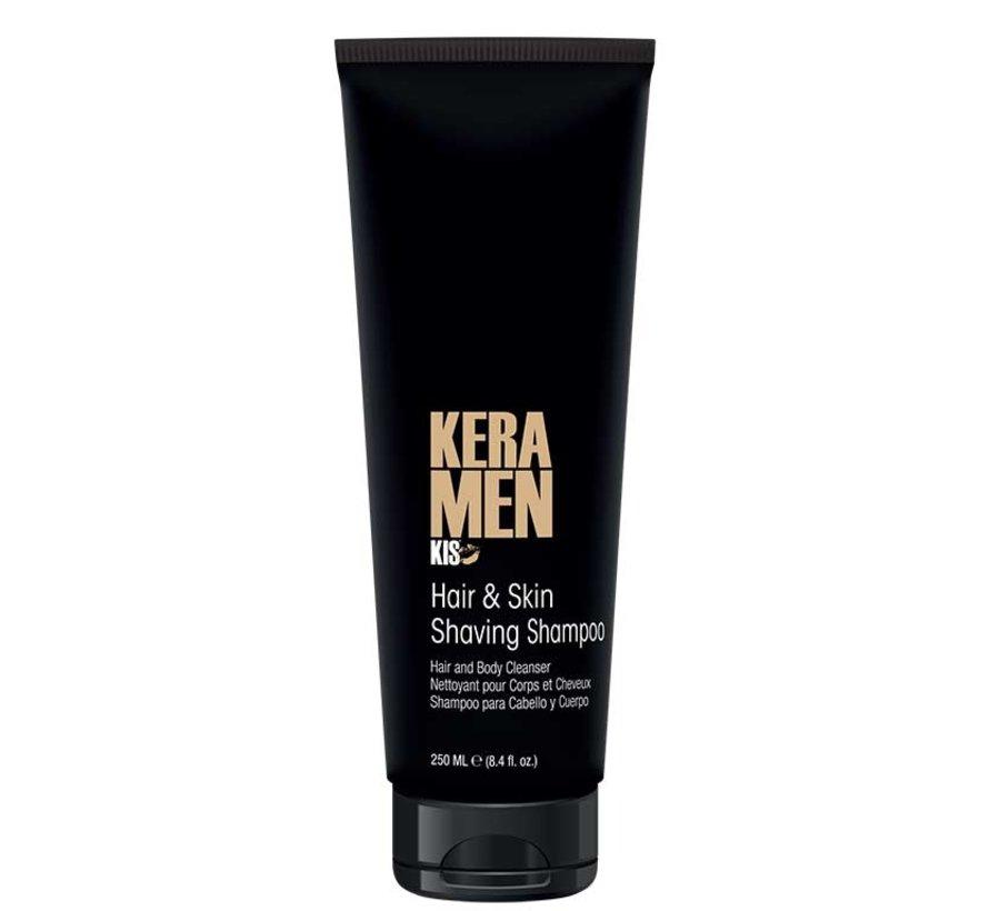 Hair & Skin Shaving Shampoo - 250ml