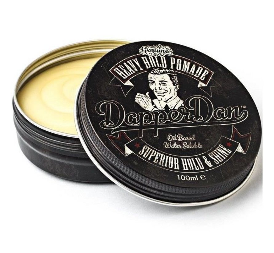 Superior Heavy Hold Pomade - 100ml