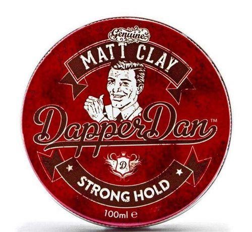 Dapper Dan Matt Strong Hold Clay - 100ml