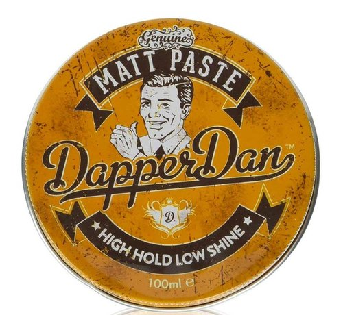 Dapper Dan Matt High Hold Paste - 100ml