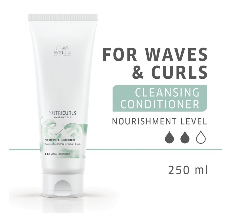 Nutri Curls Cleansing Conditioner for Waves & Curls