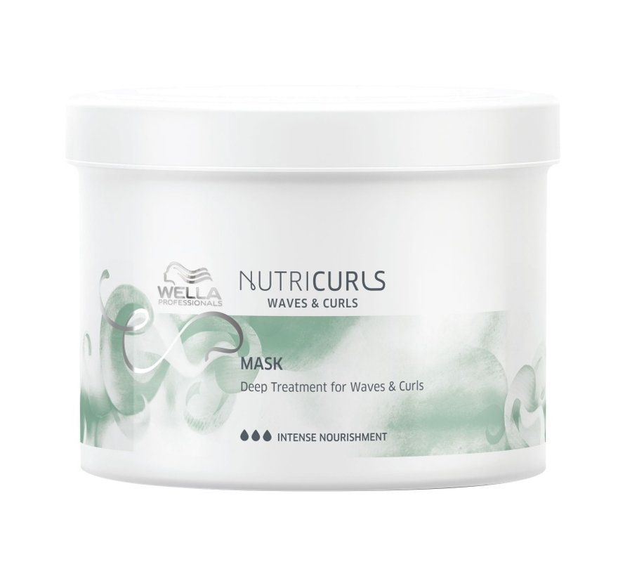 Nutricurls Deep Treatment Mask for Curls & Waves