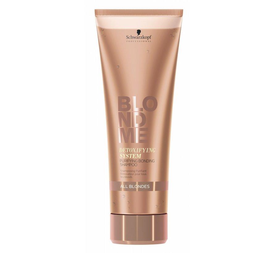 Blond Me Detoxifying System Bonding Shampoo - 250ml