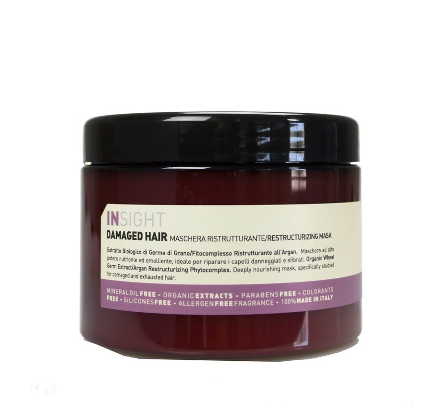 Damaged Hair Restructuring Mask