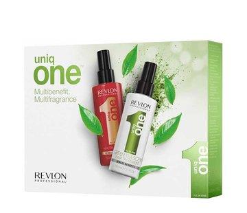 Revlon Uniq One Hair Treatment Set - Green Tea