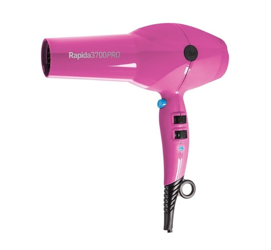 Rapida 3700 Pro Haardroger - Roze