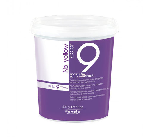 Fanola No Yellow Ultra Bleaching Powder 9 Shades - 500gr.