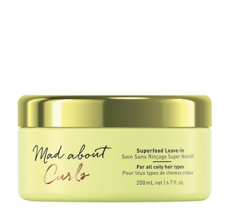 Mad About Curls Superfood Mask - 650ml - Copy