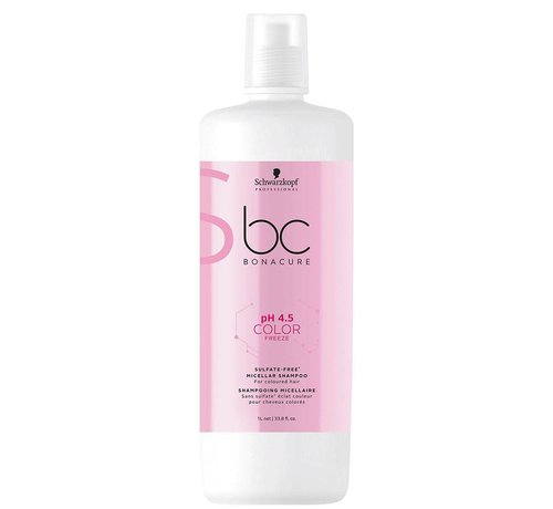 Schwarzkopf BC pH 4.5 Color Freeze Sulfate Free Shampoo - 1000ml