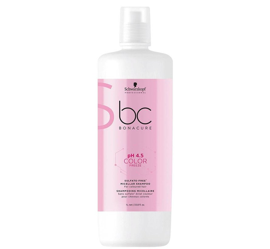 BC pH 4,5 Colour Freeze Sulfate Free Shampoo - 1000ml