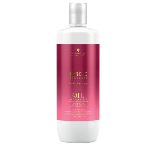 Schwarzkopf BC Oil Miracle Brazilnut Oil-in Shampoo - 1000ml