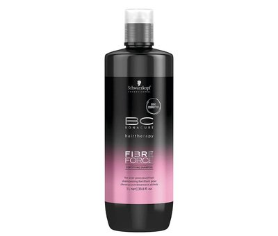 Schwarzkopf BC Fiber Force Fortifying Shampoo - 1000ml