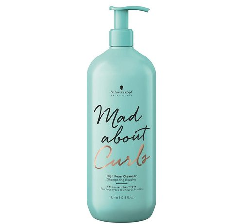 Schwarzkopf Mad About Curls High Foam Cleanser - 1000ml
