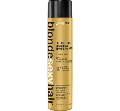 SexyHair Blonde Sulfate Free Bombshell Shampoo - 300ml