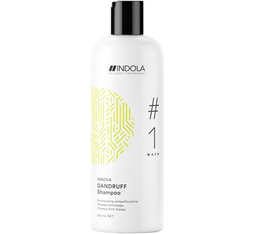 Indola Innova Dandruff Shampoo #1 Wash - 300ml