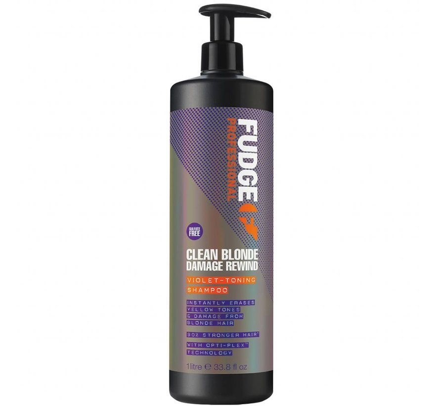 Clean Blonde Damage Rewind Violet Shampoo - 1000ml