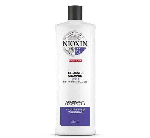 Nioxin System 6 - Shampoo / Reiniger - 1000ml