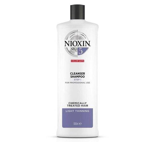Nioxin System 5 - Shampoo / Reiniger - 1000ml
