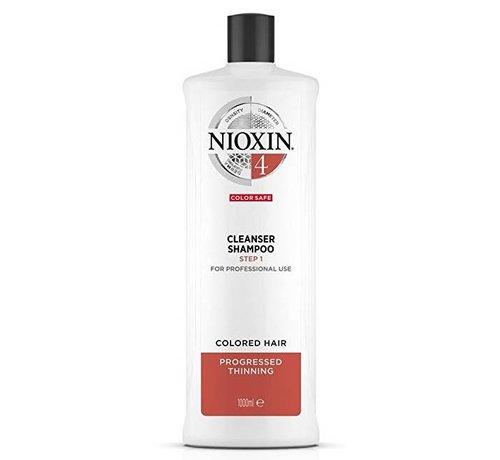 Nioxin System 4 - Shampoo / Reiniger - 1000ml