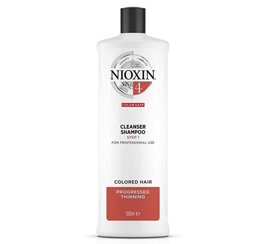 System 4 - Shampoo / Cleanser - 1000ml
