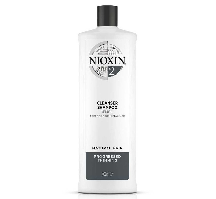 System 2 - Shampoo / Cleanser - 1000ml