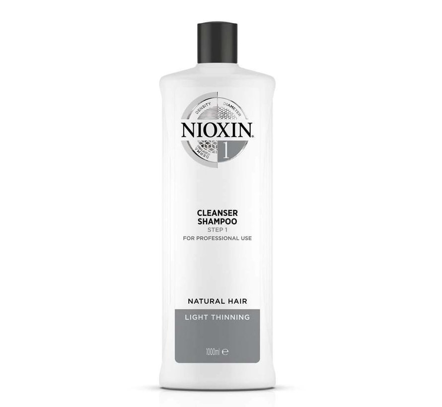 System 1 - Shampoo / Cleanser - 1000ml
