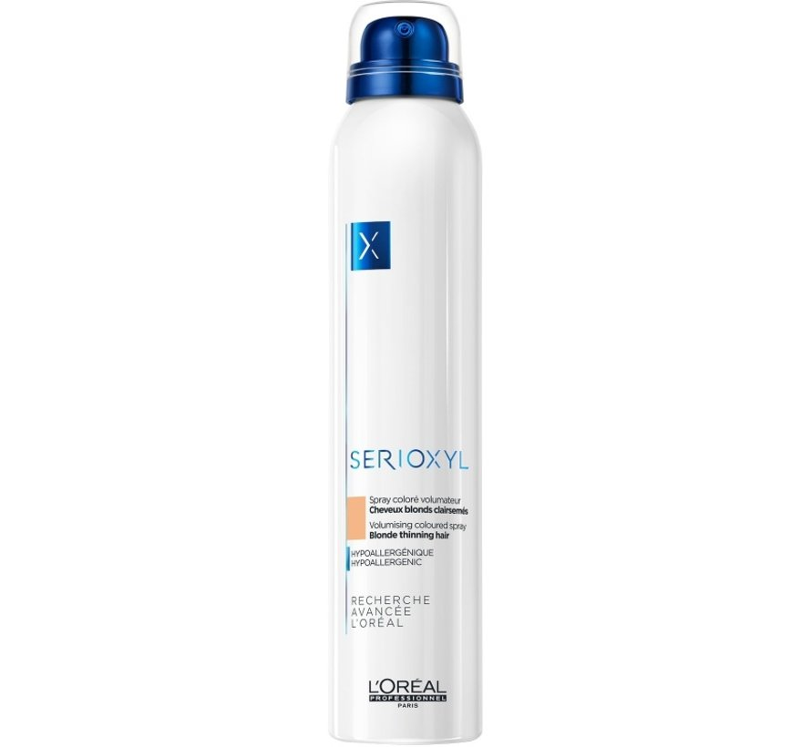 Serioxyl Volumising Coloured Blonde Spray - 200ml