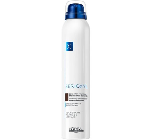 L'Oreal Serioxyl Volumising Coloured Brown Spray - 200ml