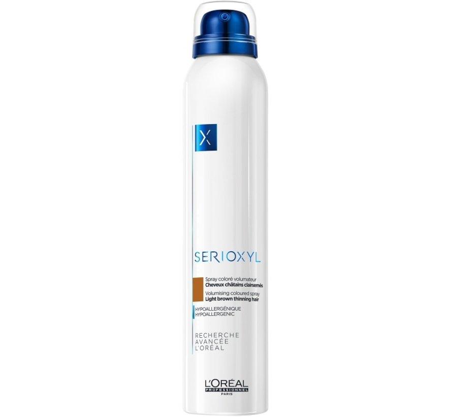 Serioxyl Volumising Coloured Light Brown Spray - 200ml