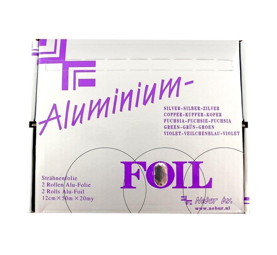 Nebur High-Light Aluminum foil (20µ) - 2X50m