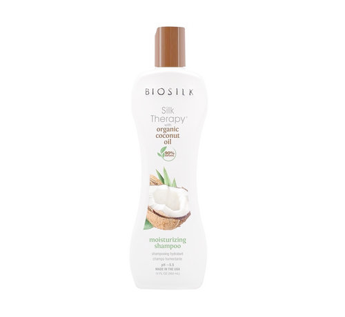 Biosilk Organic Coconut Oil Moisturizing Shampoo - 355ml