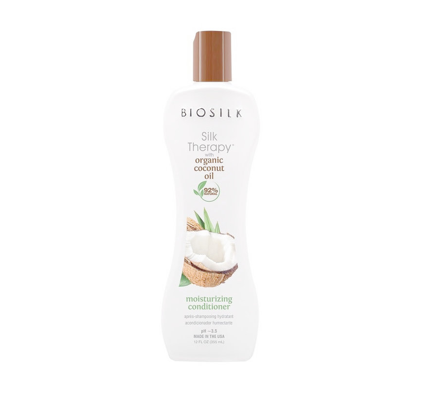 Organic Coconut Oil Moisturizing Conditioner - 355ml