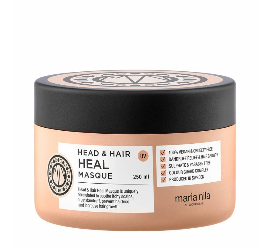 Head & Hair Heal Mask + Scented Candle - 250ml