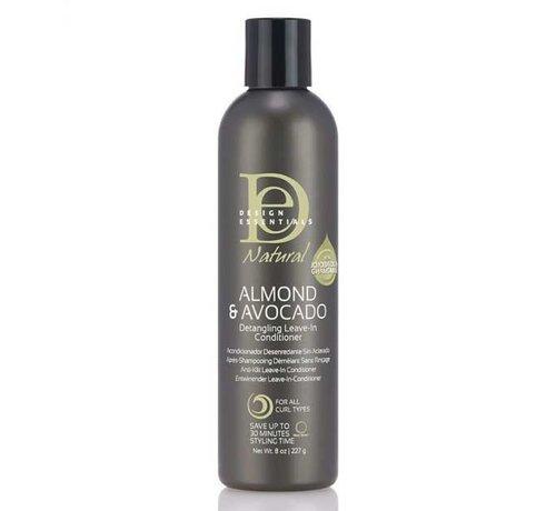 Design Essentials Natural Almond & Avocado Detangling Leave-in Conditioner - 237ml